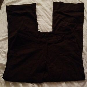 A brown pair of dress pants sz 8 from The Limited